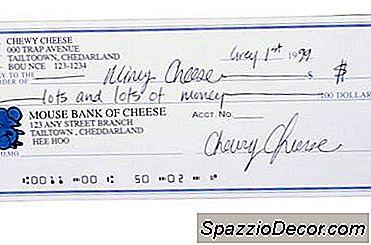 Como Localizar Um Número De Conta Bancária E Um Identificador De Banco Em Cheques