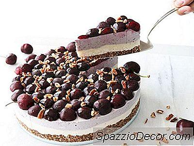 Cheesecake De Cereja Vegan Sem Glúten