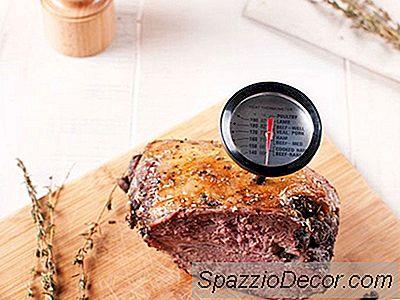 Hoe Een Vleesthermometer Te Gebruiken
