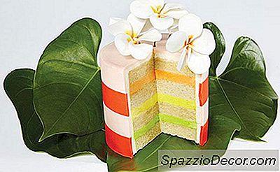 Tortas De Flores Por Encima Del Chef De Moda
