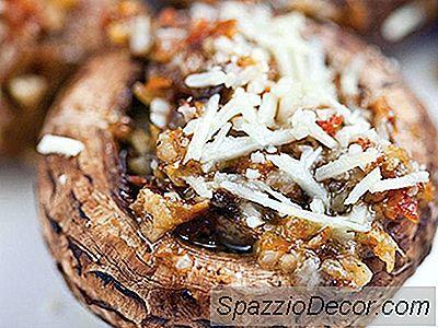 Funghi Ripieni Di Pancetta