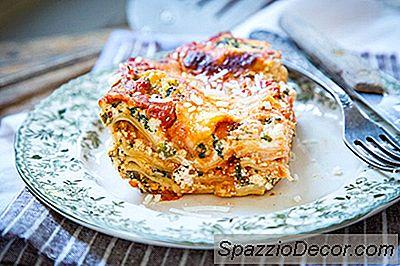 Skinny Vegetarian Lasagna Recipe