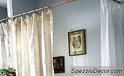 Añadir Calor En Casa Con Barras De Cortina De Cobre Bricolaje