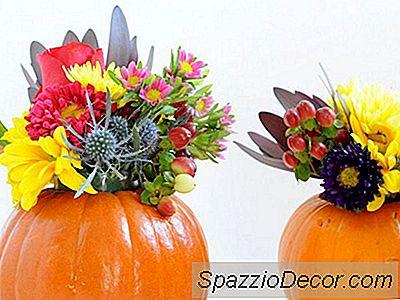Diy Pumpkin Flower Vases Du Vil Være Besat Over Hele Sæsonen Lang
