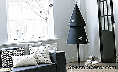 10 Ikke-Traditionelle Juletræer For At Give Dit Hjem En Alvorlig Ferieånd