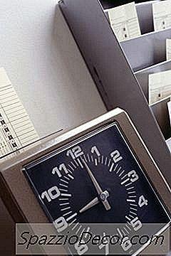 Numero Di Ore Lavorate All'Anno Per Un Impiegato A Tempo Pieno